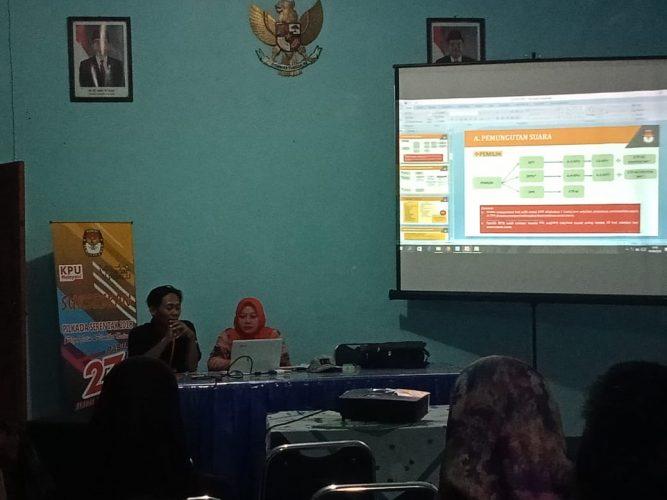 Bimbingan Tekhnis Ketua PPS Kelurahan Banjarejo